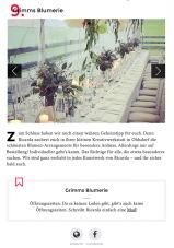 """Artikel """"Geheimtip Hamburg"""