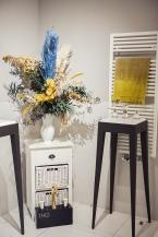 Trockenblumenarrangement The Interiors Club Event / THG Paris / Lalique / KPM Berlin